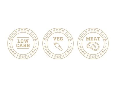 Food Type Stamps food branding icons stamps