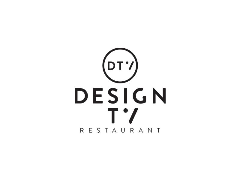 Design TV Logo logo identity branding