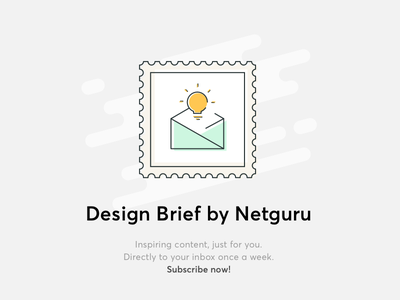 Design Brief by Netguru brief news inspirations newsletter design brief
