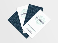 Valley Flowers Business Card