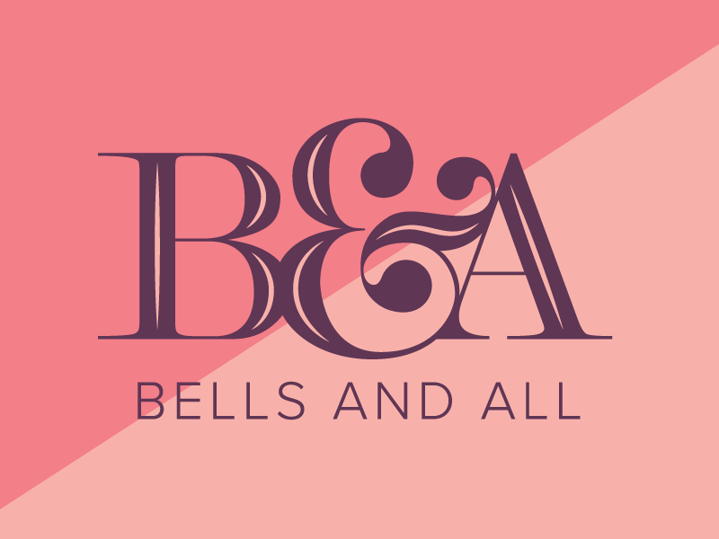 Bells and All Logo sans-serif serif modern typography agency graphic design branding logo