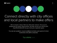 Cityglobe homepage 4