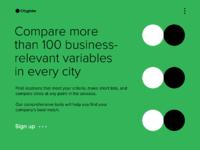 Cityglobe homepage 3