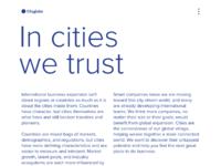 Cityglobe homepage 5