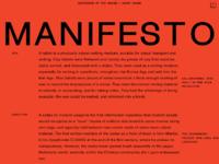 1440 manifesto