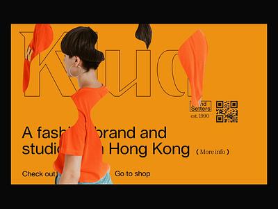Klua fashion minimalism minimal animation ui web gif ux brutalism brutal desktop app website