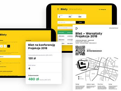PRO18: Tickets web ux ui mobile booking ticket booking ticket app minimal desktop conference case study app