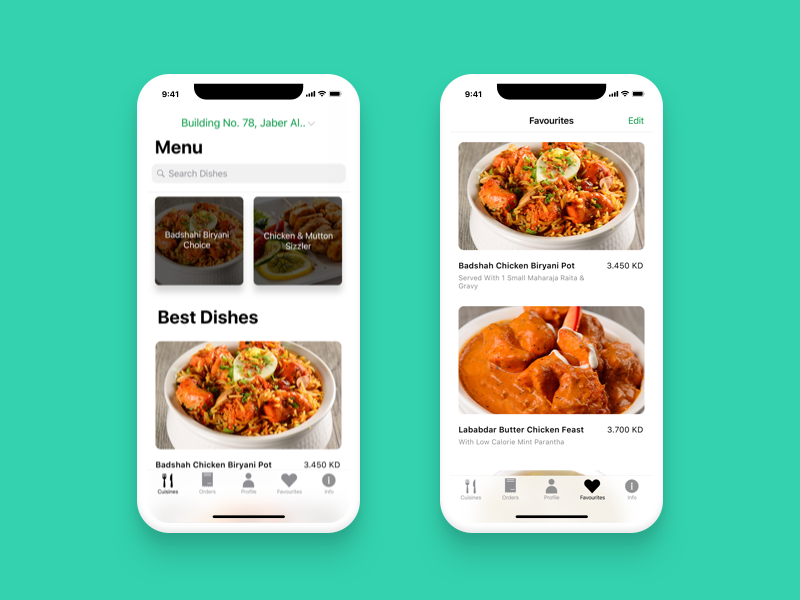 Mugal Mahal Online Food Ordering App mobile app iphone8 iphonex app 2018 order online food ios