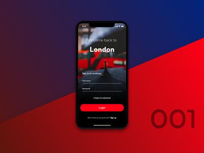 Login to London iphonex login daily ui