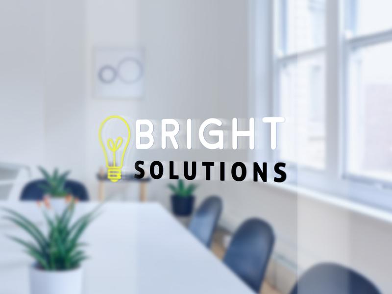 Bright Solutions Signage Design