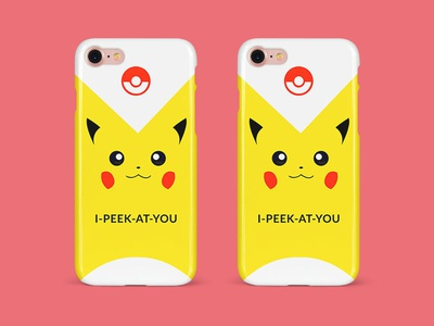 Pikachu Phone Cover Design