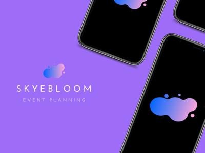 SkyeBloom Event Planning App Design