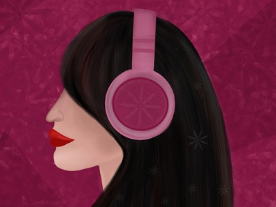Music is my Power design digitalart procreate illustration