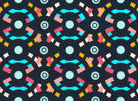 Pattern Branding apparel vector illustration branding design