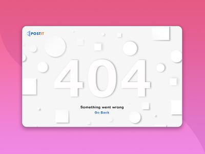404 Error page icon website web minimal flat vector ui illustration branding design
