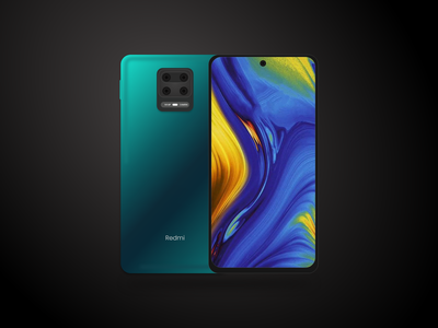 Redmi Note 9 Pro Max xiaomi redmi snapdragon 720g punch hole camera android phone redmi note 9 pro max redmi note 9 series redmi xiaomi mockup adobe xd xd adobe design