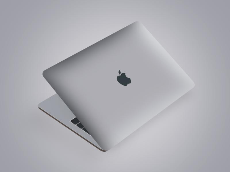 Macbook pro illustration macbookpro macbook apple product design adobe photoshop photoshop adobe mockup design