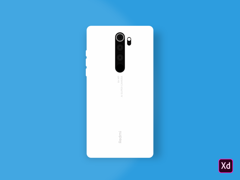 Redmi Note 8 Pro - Illustration graphic design graphicdesign quad cam beast 64mp quad cam mi phones xiaomi mockup redmi mockup redmi note 8 pro mobile phome mockup xiaomi redminote8pro vector illustration adobe xd xd adobe mockup design