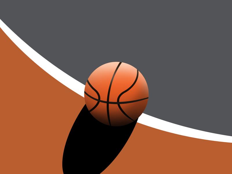 Basketball illustration sports bball nba digital illustration digital art artist art creative basketball court ball game basketball drawing adobe photoshop adobe illustration design