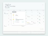 Calendar Section