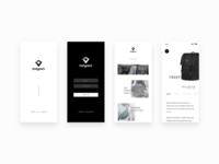 Bodypack App Concept WIP