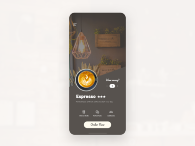 Coffee Order Mobile App