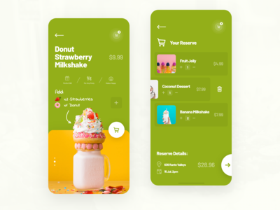 Order Reserve Mobile App