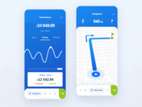 My Finance   Dashboad Weekly and Navigation