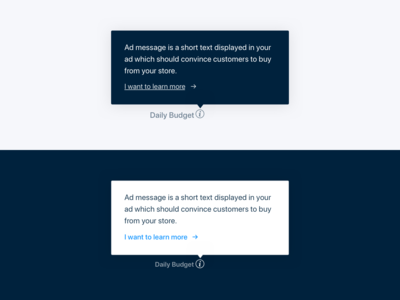 Tool-tip. RetargetApp help tool tip web app interface ui ux automate ads retargetapp product design facebook ads ads