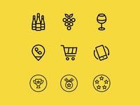 Sonoma Cutrer Icons