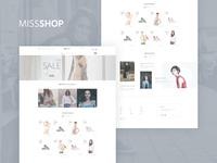 MisShop - project