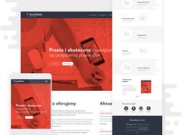 Landing page project