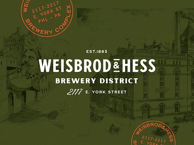 Weisbord & Hess | Branding restuarant design logo branding vintage bar beer brewery lynx philadelphia fishtown