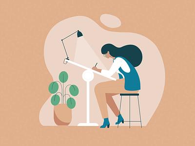 Illustrations for The International Well Building Institute wellcertified sustainable vector illustration design philadelphia lynx