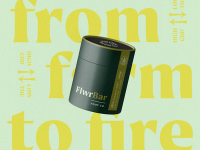 FlwrBar| Packaging hemp cbd branding packaging marajuana cannabis