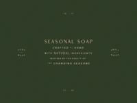 Seasonal Soapery | Branding