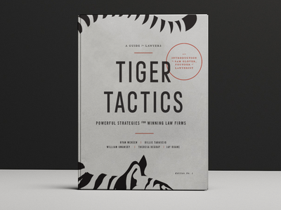 Tiger Tactics | Book Cover tactic lynx tiger lawyer cover book