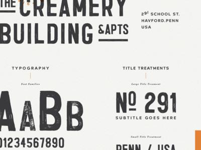 The Creamery | Typography