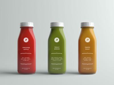 The Juice Merchant | Packaging