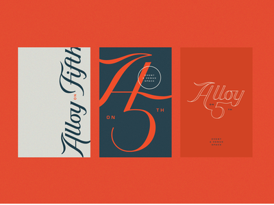 Alloy on 5th Branding