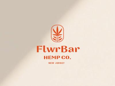 FlwrBar | Concept feminine identity brand marajuana weed plant logo branding flower lynx hemp cbd