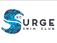 KC Surge Swim Team Logo Design