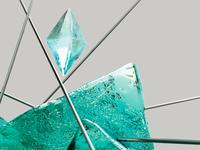Ice Sculpture Detail Render