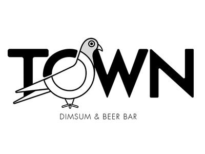 Town Pigeon Logo