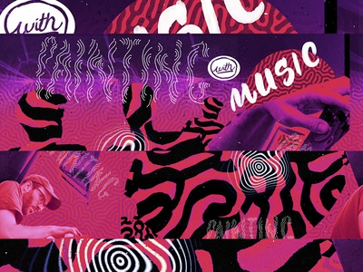 Painting with Music Collage