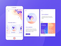 Huarong app ui design