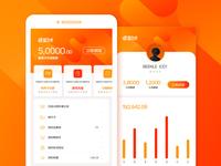 geili card UI design