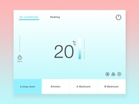 Daily UI #021-Home Monitoring Dashboard