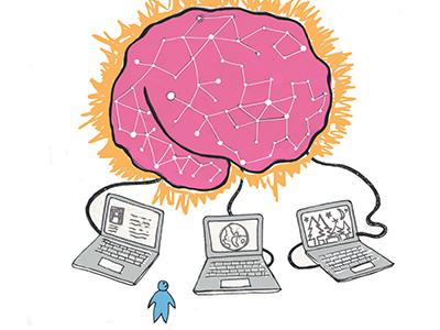 The Singularity print illustration