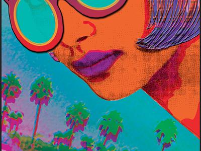 Agent Orange art print digital collage illustration